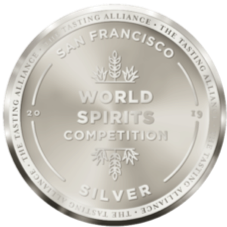 San Francisco International Spirits Competition Silver Medal (2019, USA)