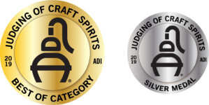 ADI Judging of Craft Spirits Silver Medal (2019, USA)