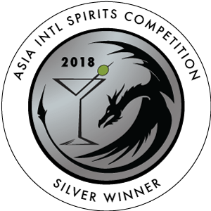Asia International Spirits Competition Silver Medal (2018, Hong Kong)