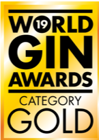 World Gin Awards Gold Medal (2019, London)