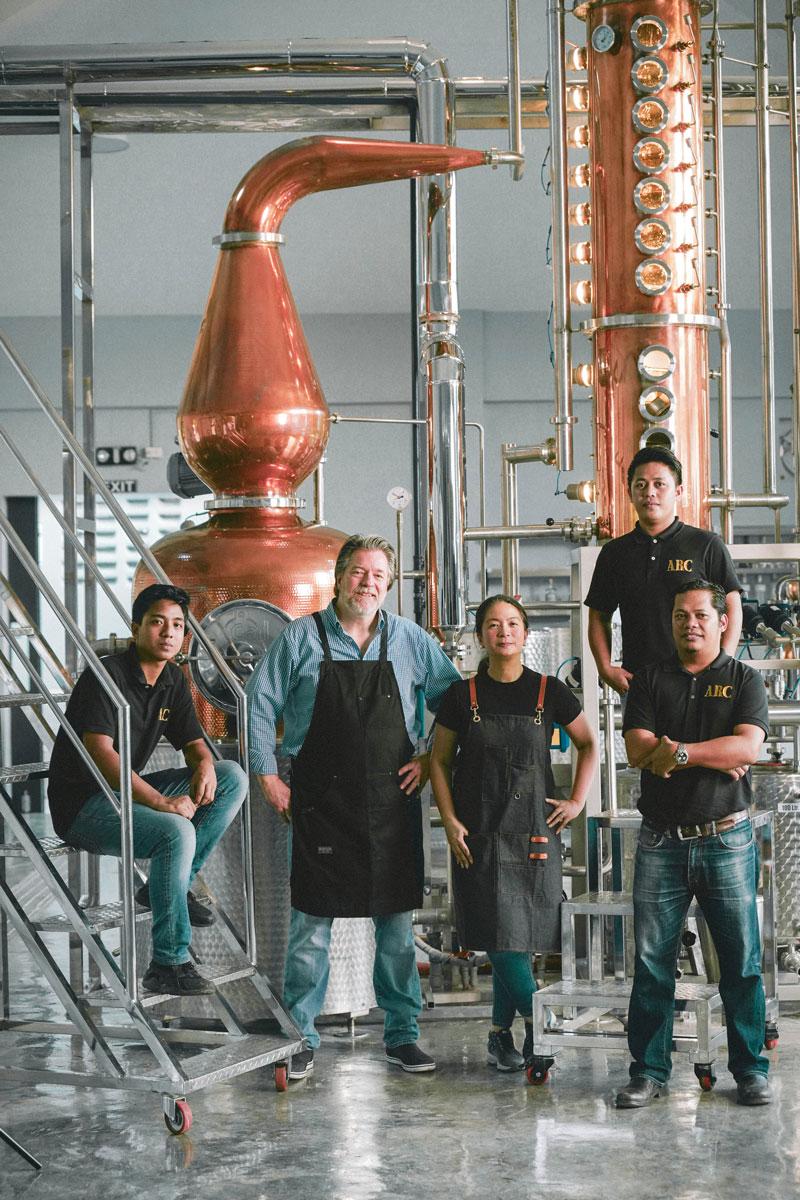 Full Circle Distillery team portrait
