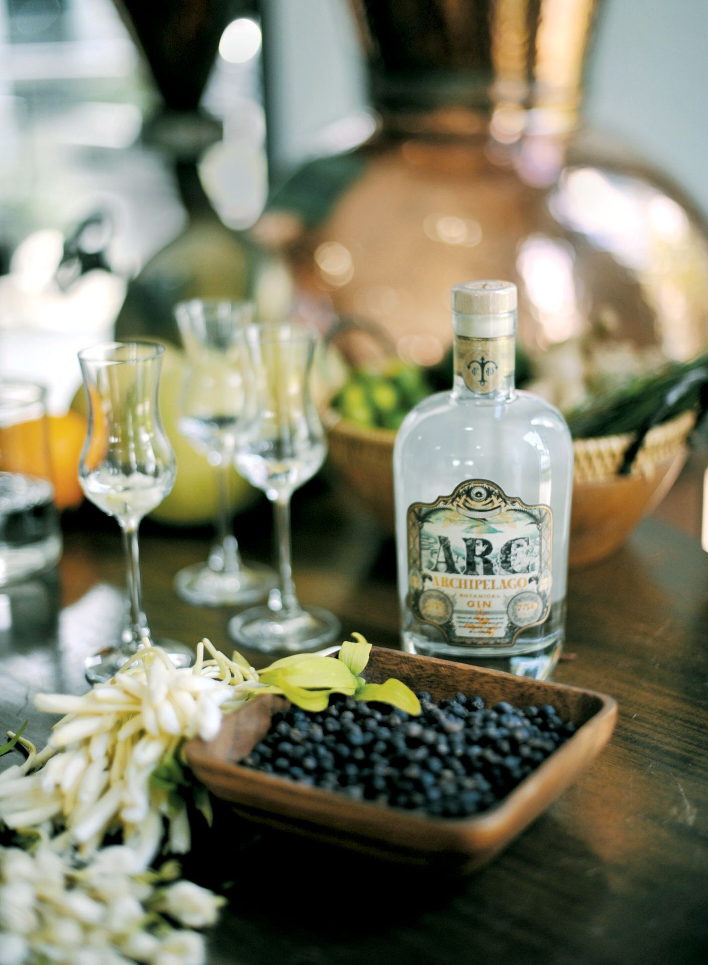 ARC Botanical Gin product shot