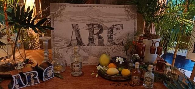 ARC Botanical Gin product spread