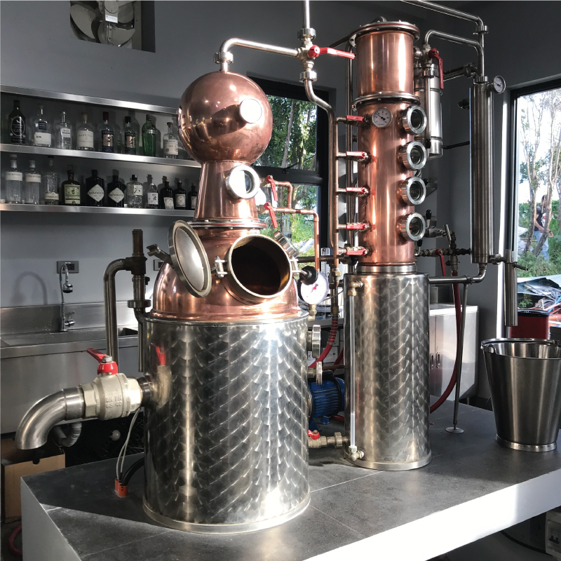 Full Circle Distillery Magnum copper still
