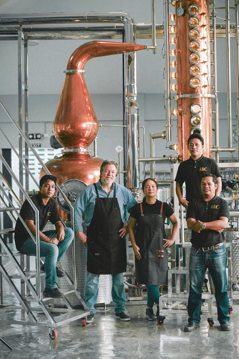 Full Circle Distillery team portrait