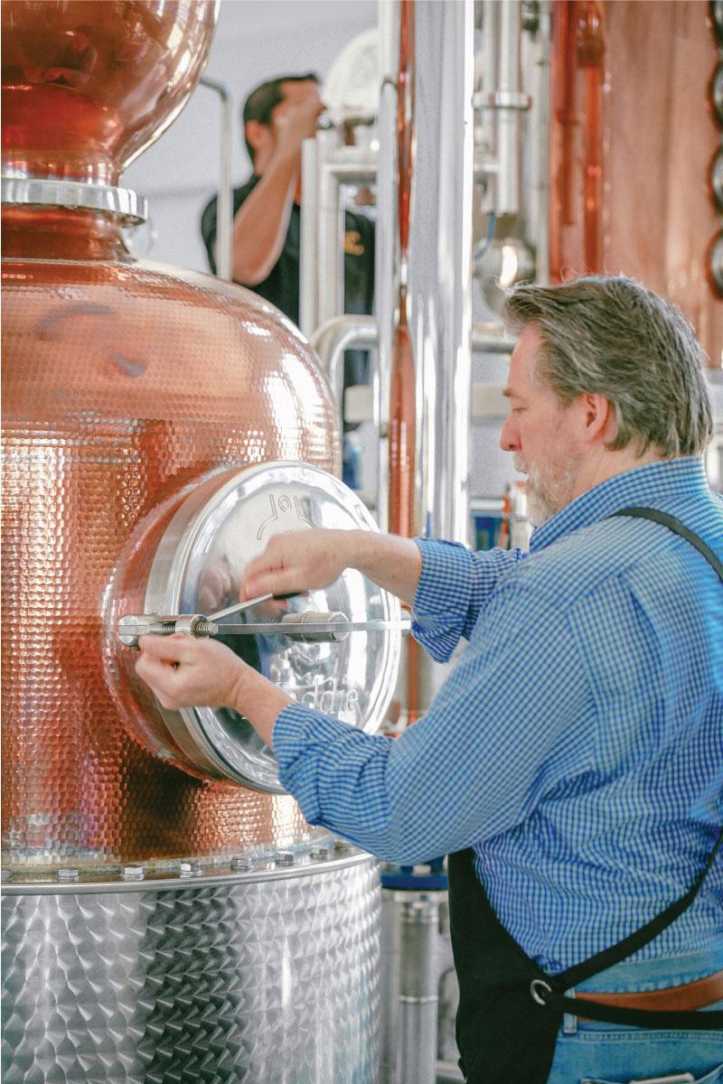 ARC GIN is made via artisinal distilling
